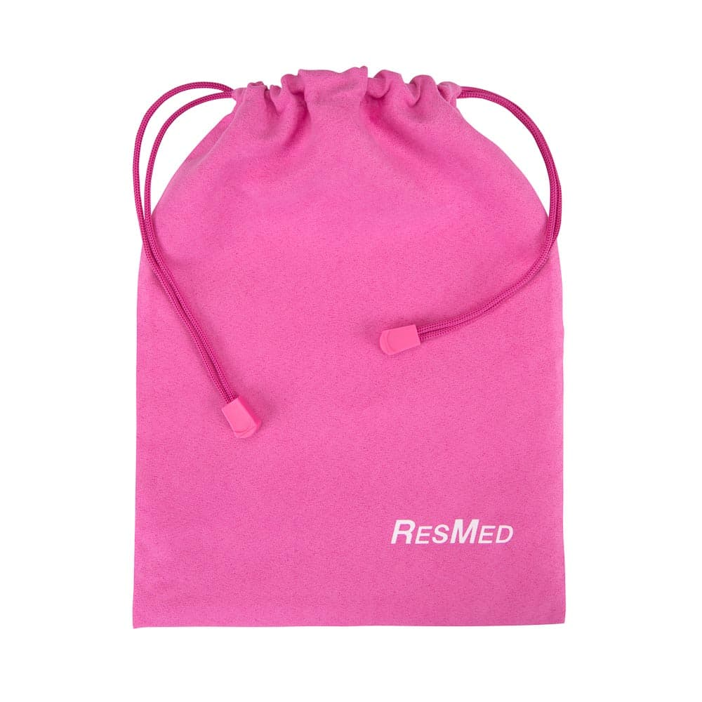 CPAP Mask drawstring bag - pink