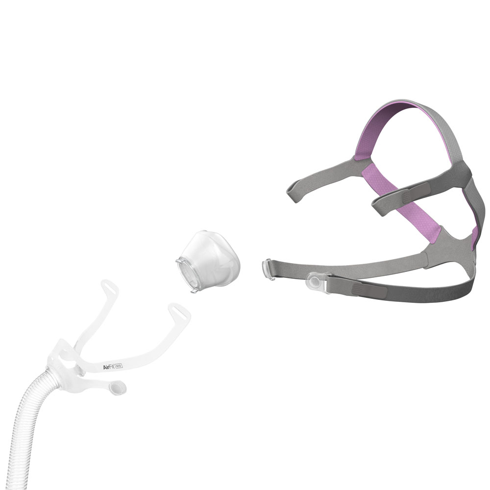 airfit n10 for her mask with headgear