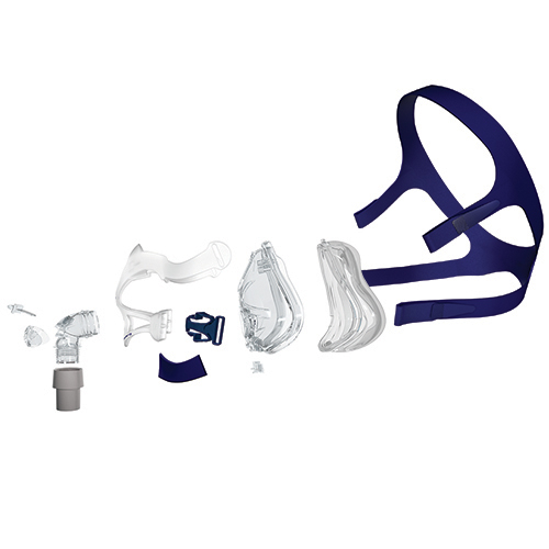 Quattro FX Headgear - Blue