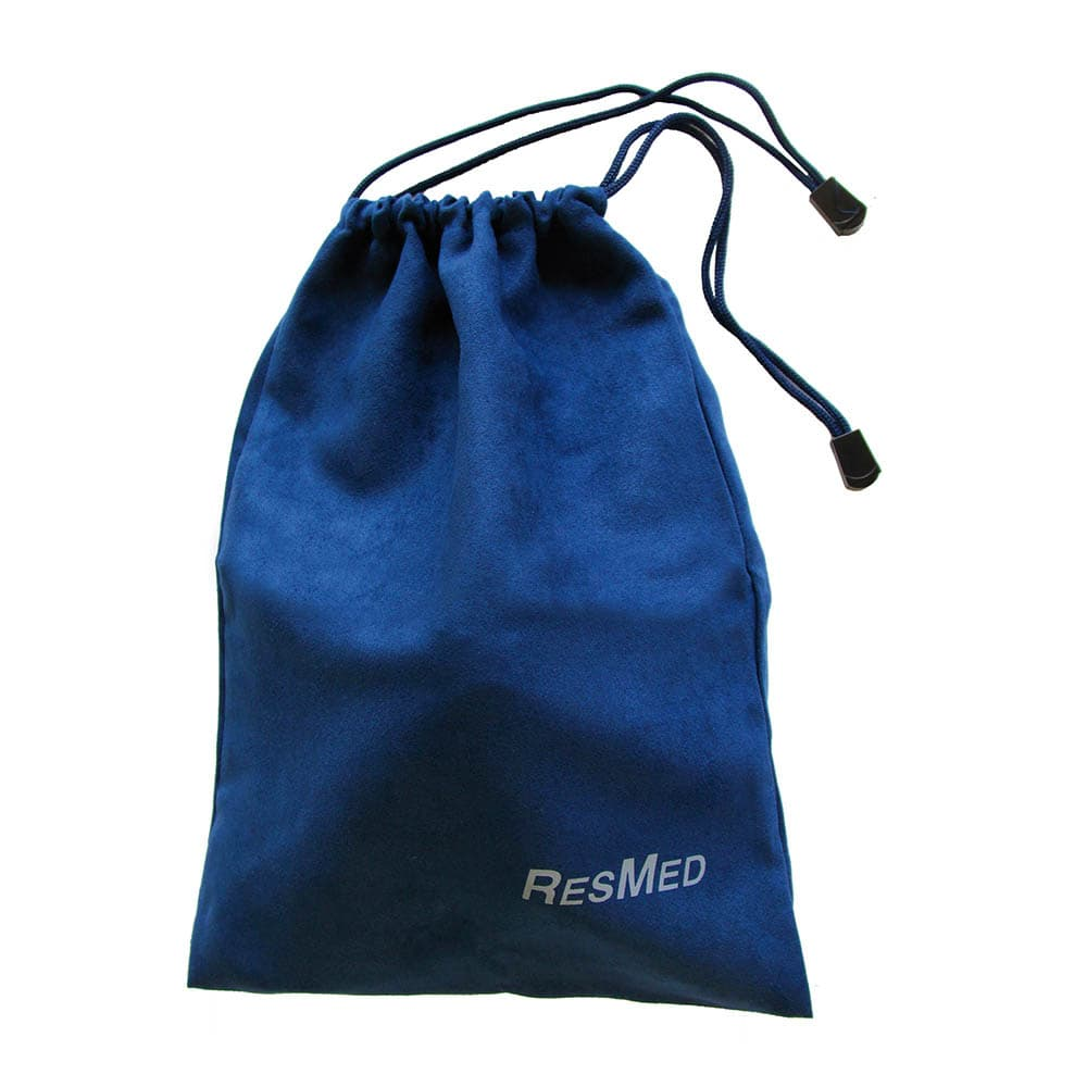 CPAP Mask drawstring bag- blue